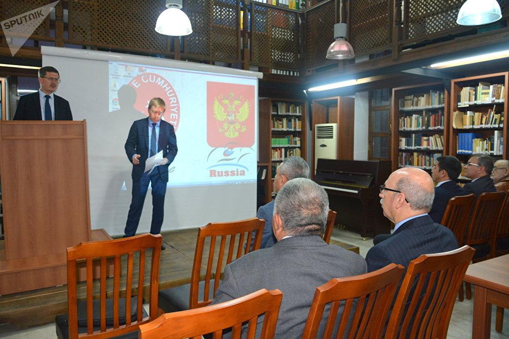 SPUTNIK NEWS :Rusya İstanbul Başkonsolosu Andrey Podyelışev'ın açılış konuşması