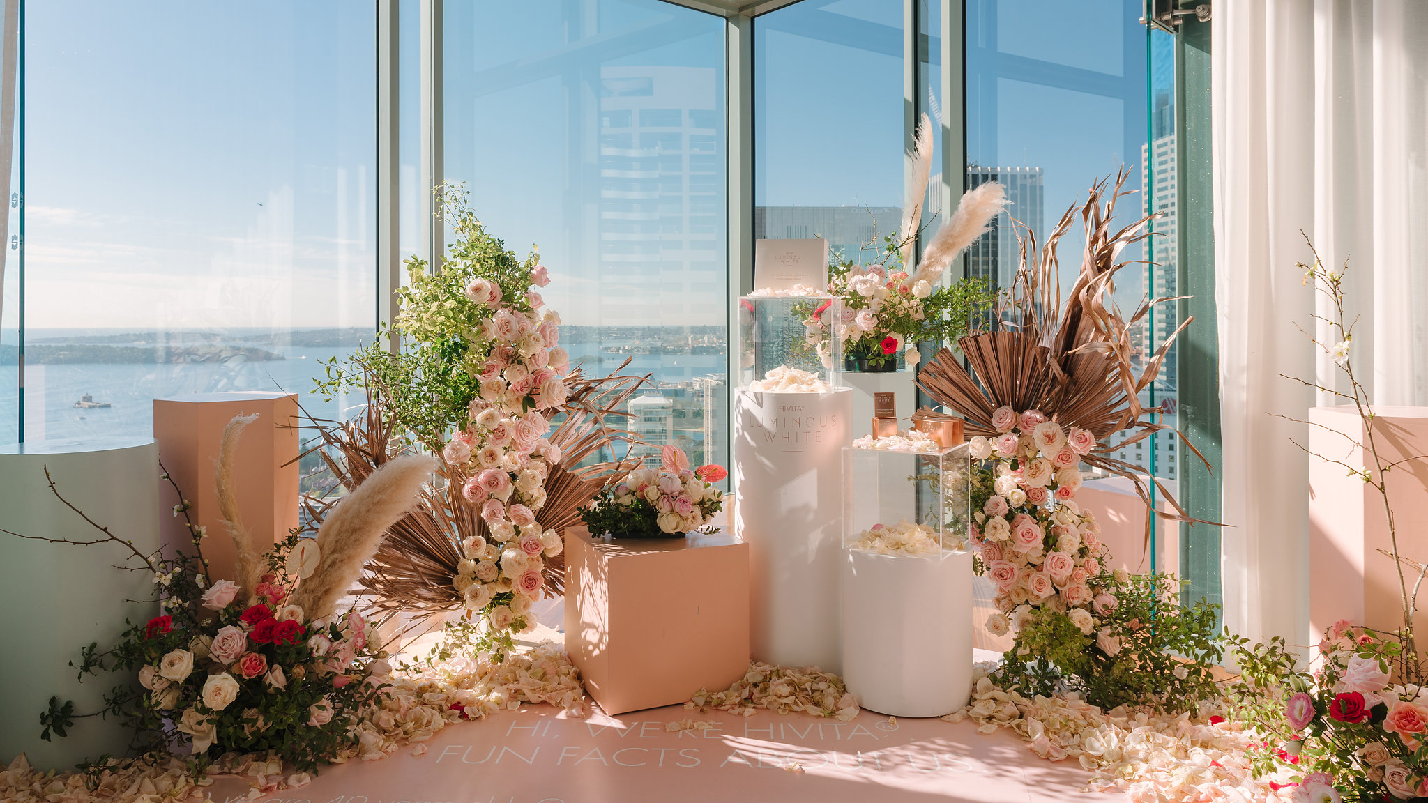 8. Shangri-La Hotel - Hotel weddings aren't typically the first choice for the modern Australian couple looking for a contemporary and stylist wedding. This is because hotels for decades have offered stale ballrooms and not much else. Fortunately, hotels are coming around and Sydney's Shangri-La offers an amazing view for wedding ceremonies at its Altitude Restaurant & Bar. The standard dining chairs in the ballroom are still admittedly dated but nothing that a professional stylist cannot work around.Location: 176 Cumberland St, The RocksStyle: Modern, luxuriousWhy we recommend Shangri-La for weddings:- Full-service, professional, and experienced hospitality.Our styling recommendations:- Bring in your own furniture as the tables and chairs are dated.- For a wedding ceremony at Altitude Restaurant & Bar, use acrylic plinths so as not to block theincredible panoramic views.