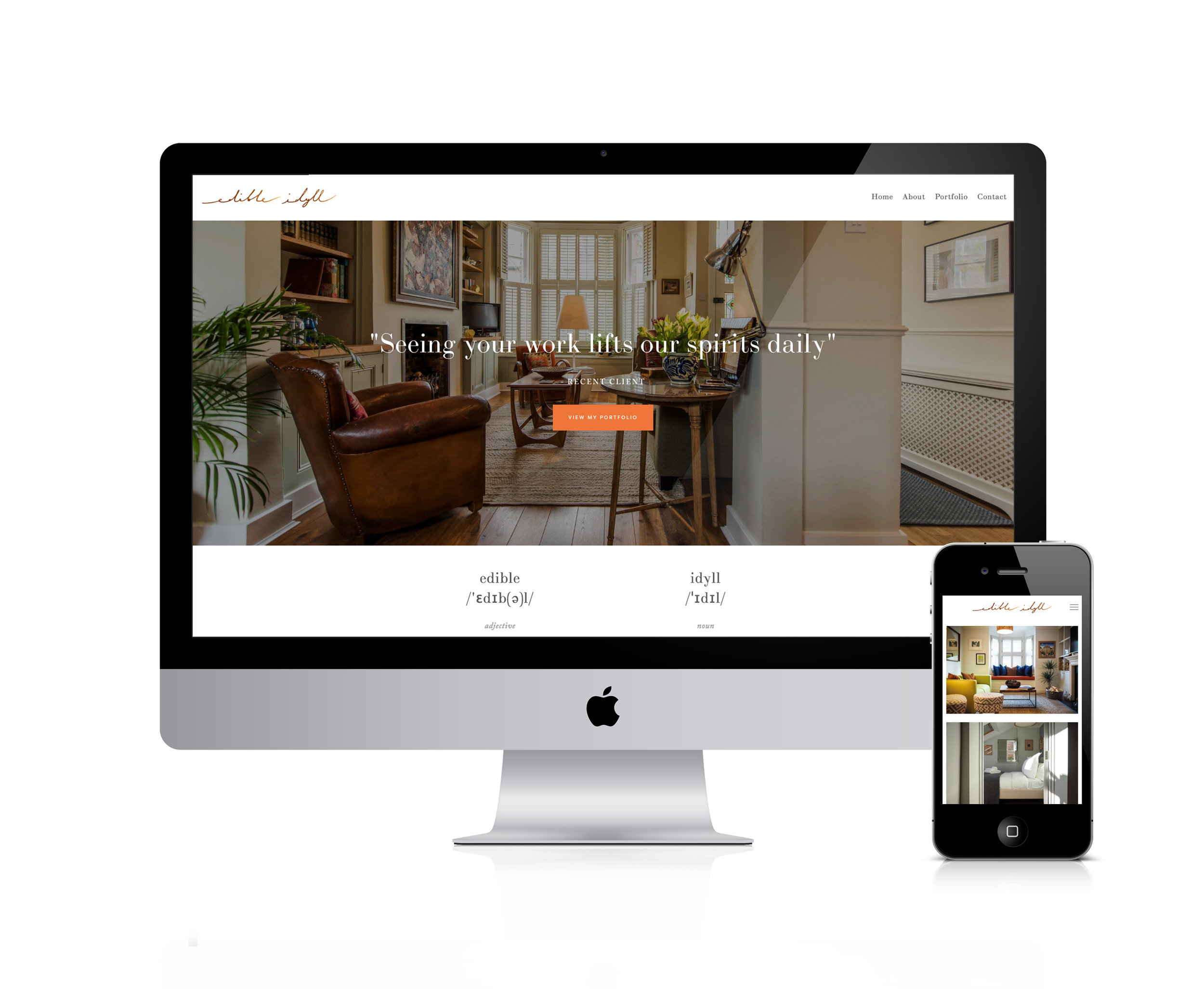 Squarespace for interior design