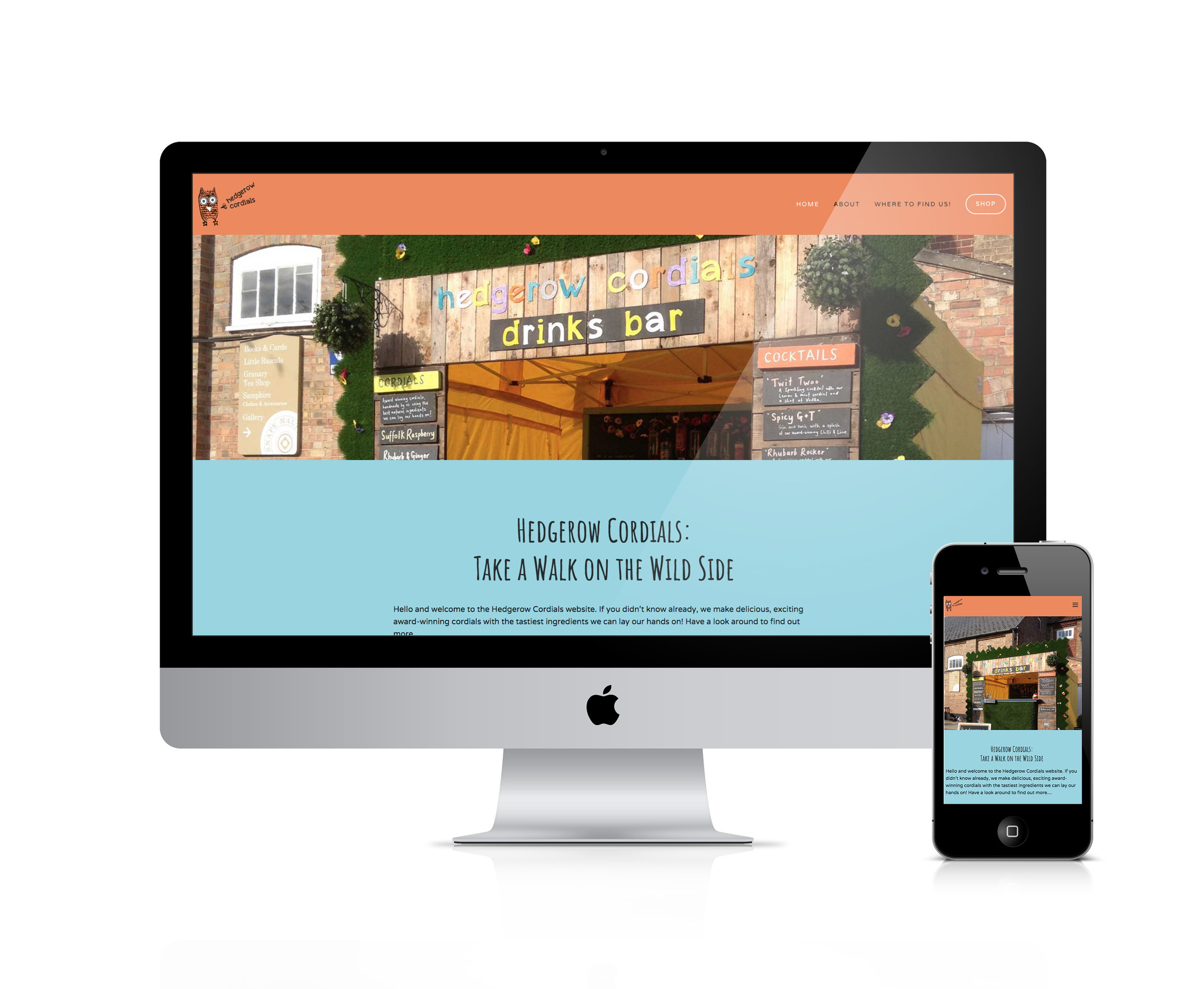 squarespace for food and drink