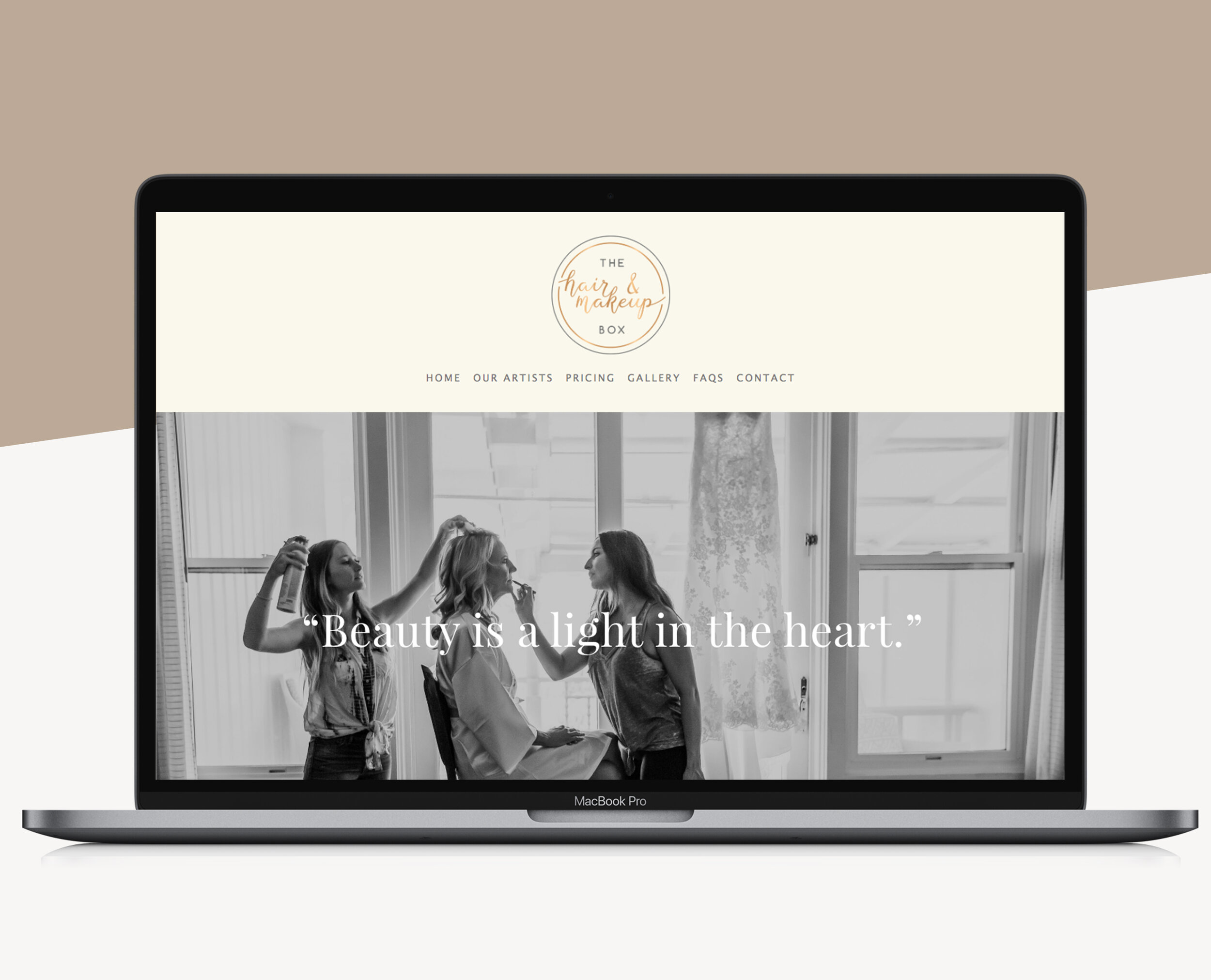 squarespace for hairdressers
