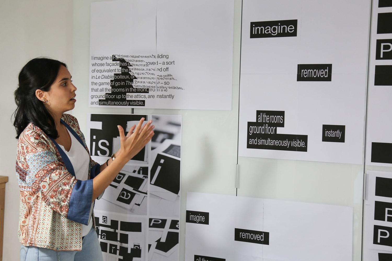 Poster workshop with graphic designer Wayne Daly