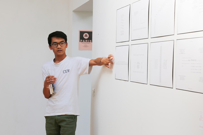 Presentation of the work