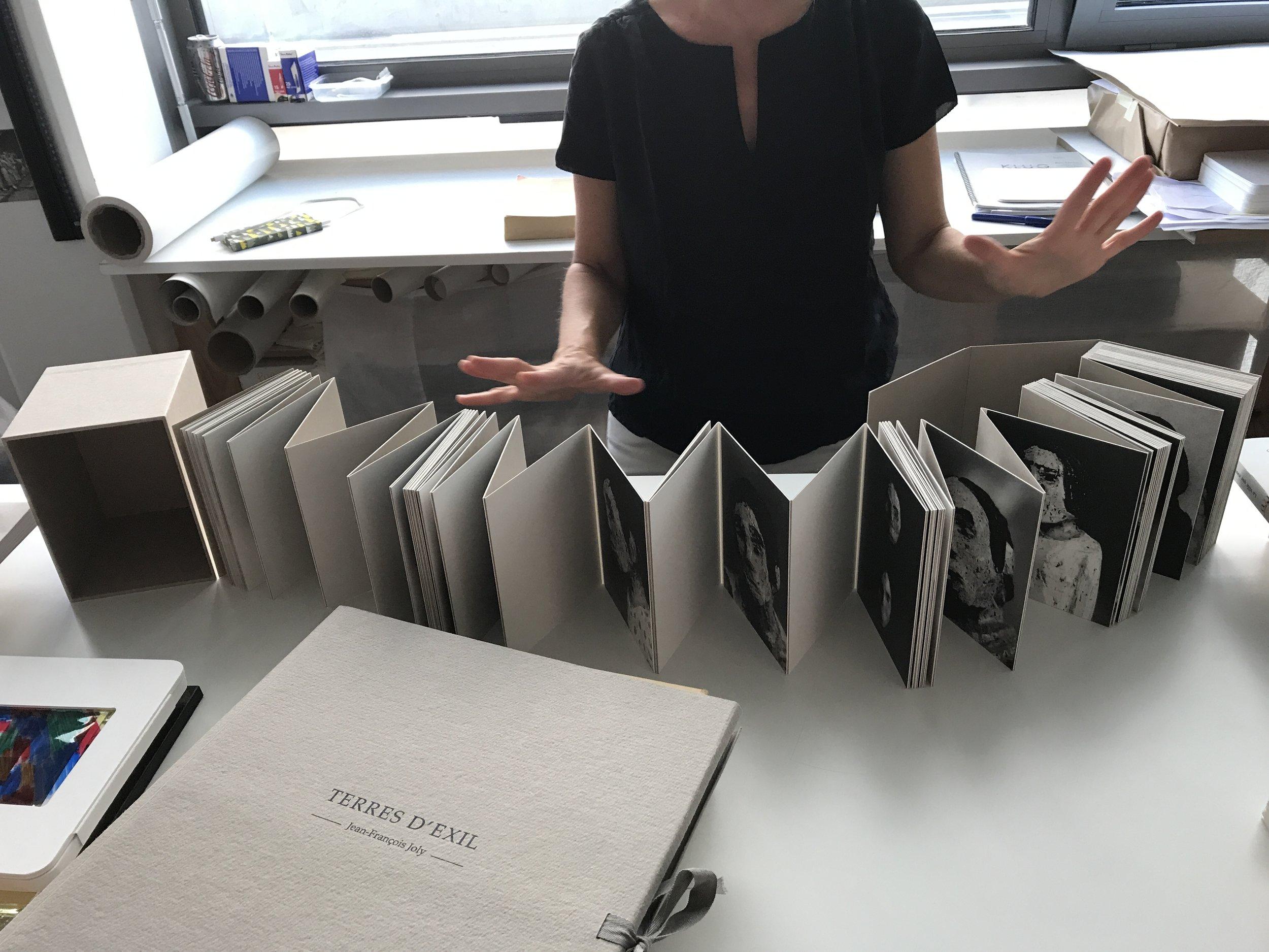 Visit to Laurel Parker Bookbinding studio