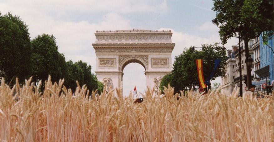 La Grande Moisson , Paris 1990, Syndicat des Jeunes Agriculteurs.