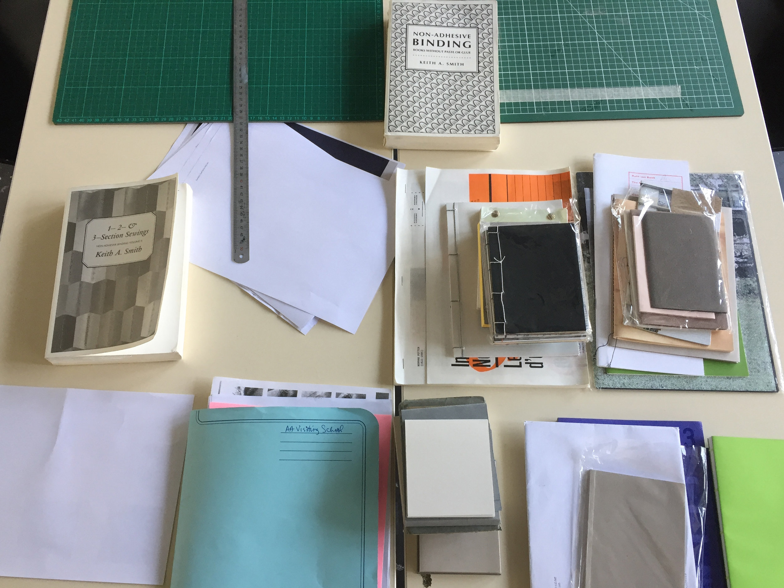 Bookbinding Workshop with Laurel Parker.