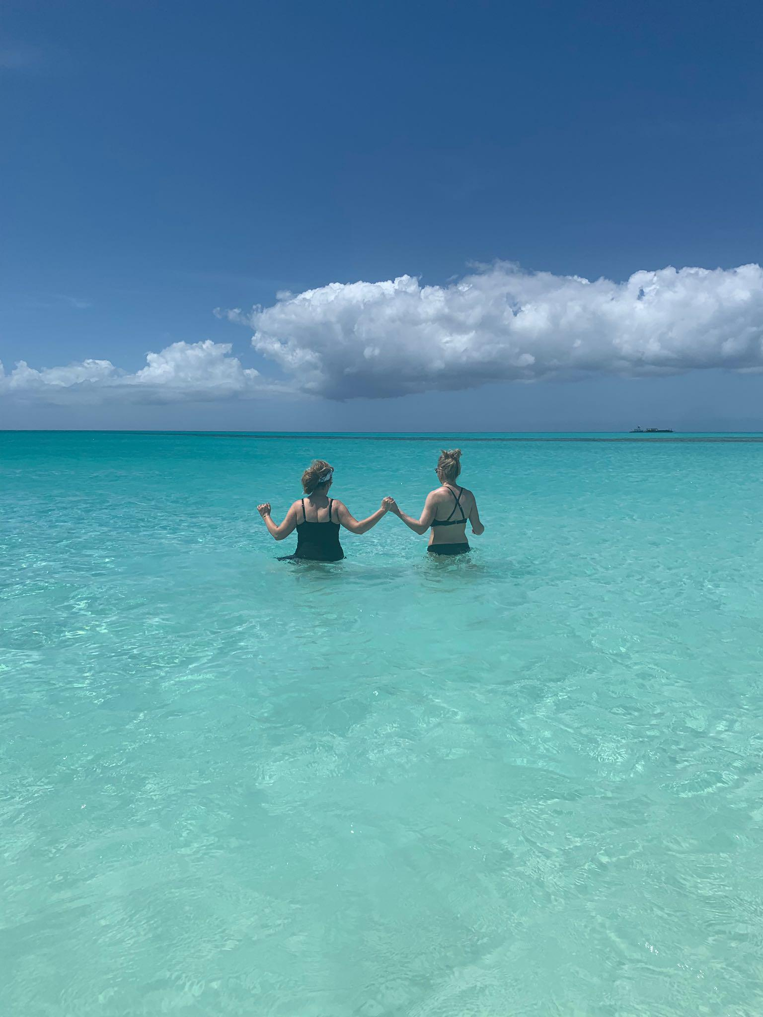 Trip-Sisters-Beaches-Catie-Kehoe-Colleen-Kelly-Turks-Caicos-Beach