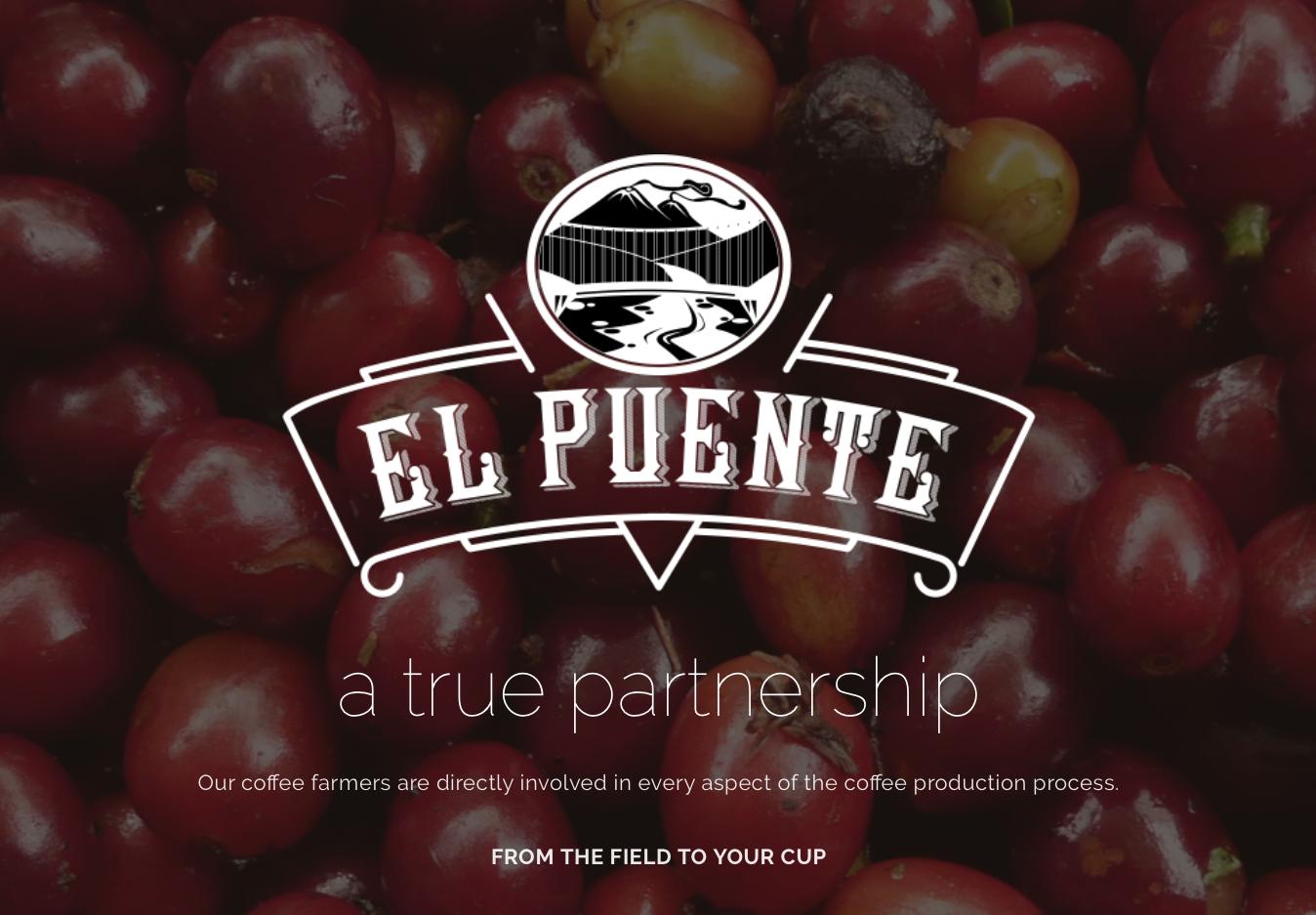 WEBSITE: El Puente Coffee