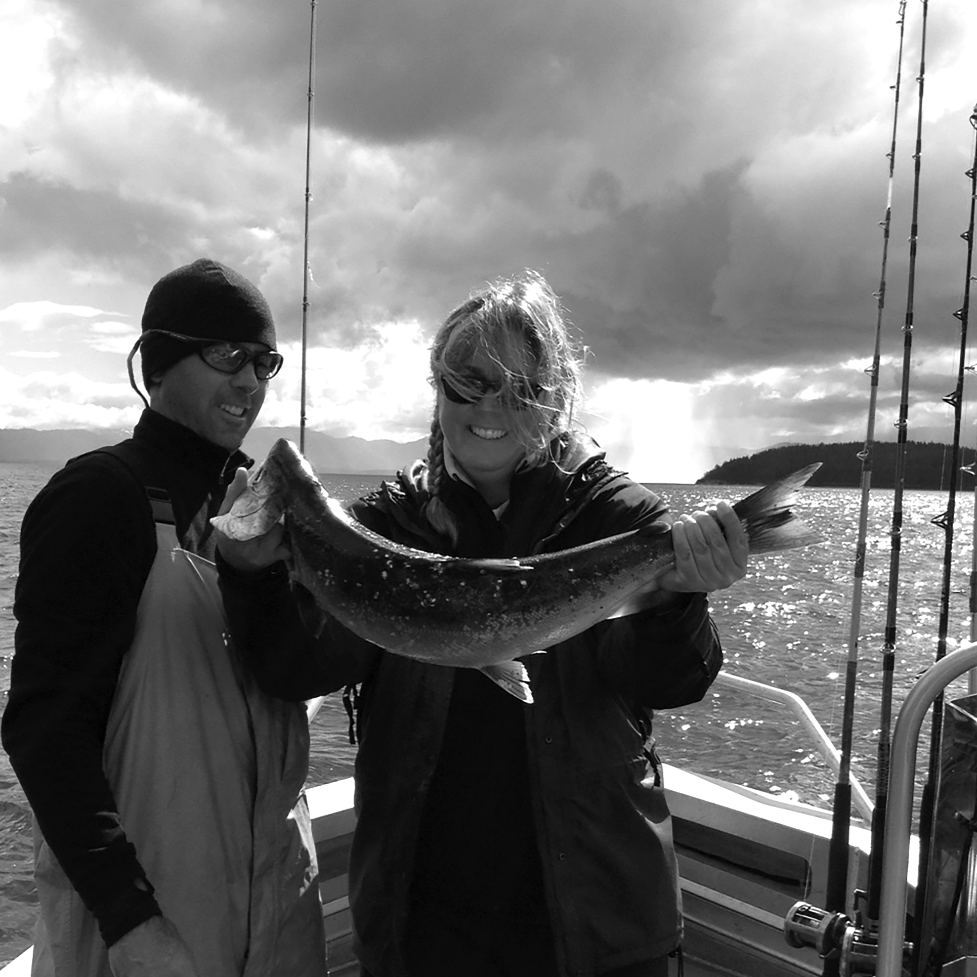 SALMON FISHING, Excursion Inlet, Alaska