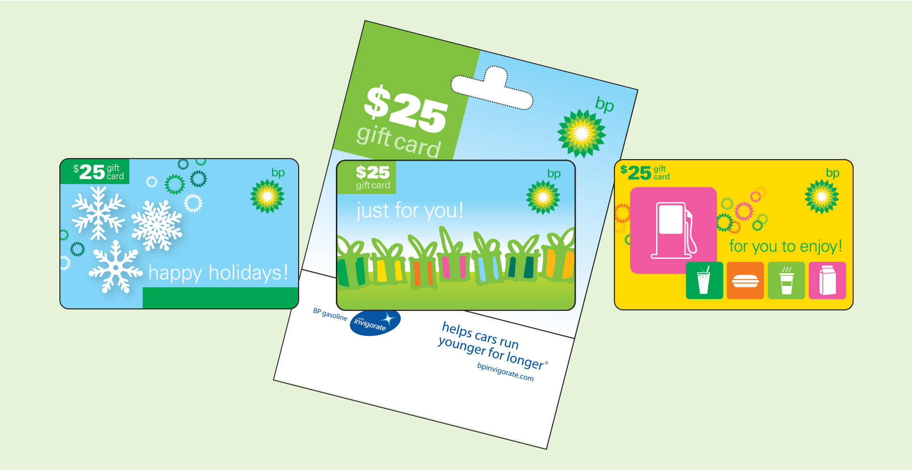 CARD DESIGN: BP Gift Cards