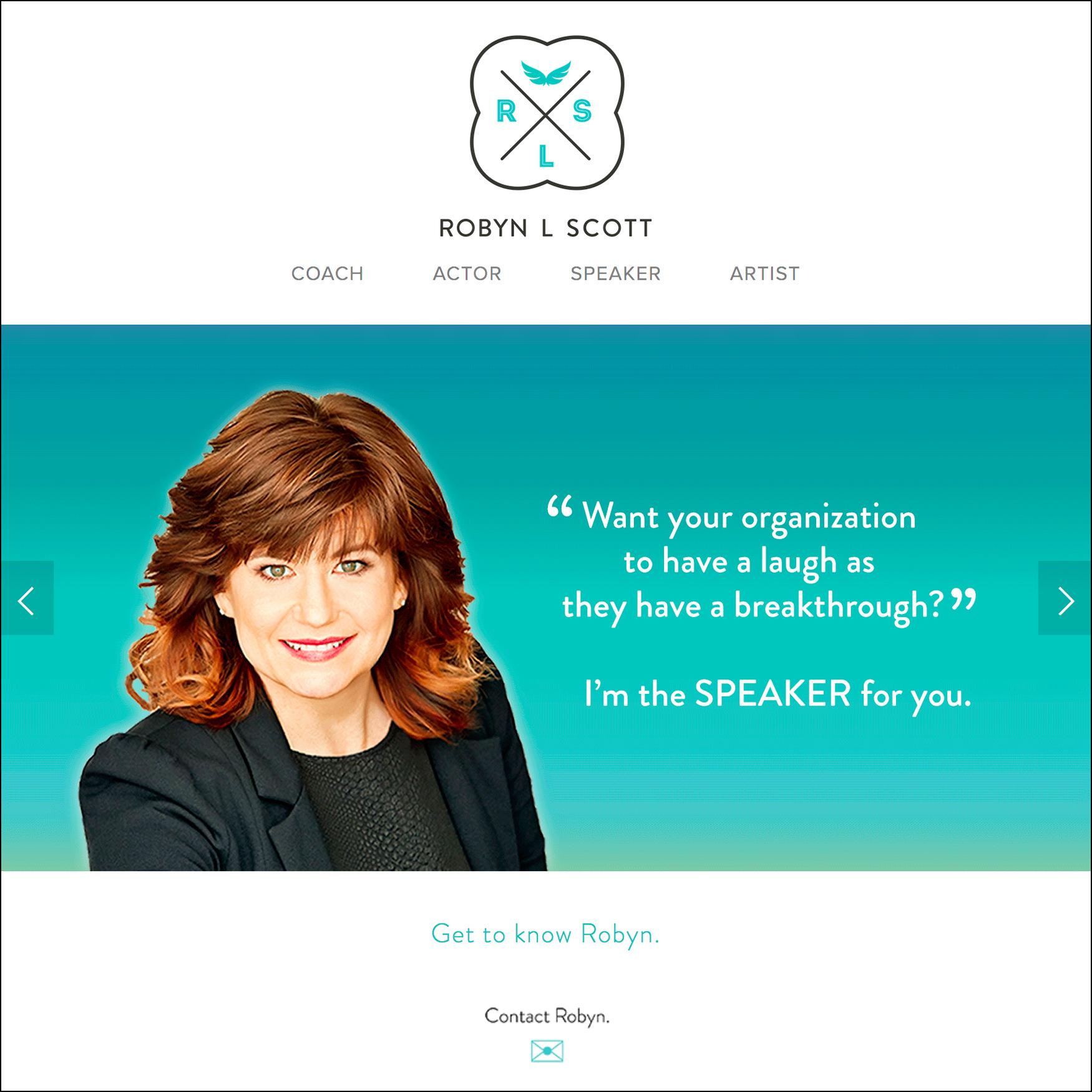 WEBSITE: Robyn L Scott