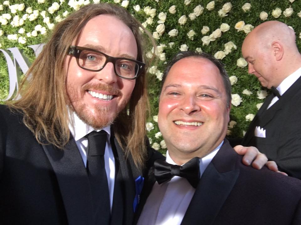Tim Minchin at the Tonys