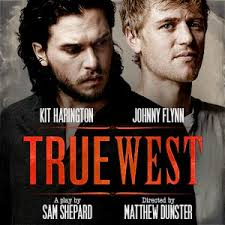 TRUE WEST STARRING KIT HARINGTON AND JOHNNY FLYNN OPENED AT THE VAUDEVILLE THEATRE NOVEMBER 2018- FEBRUARY 2019