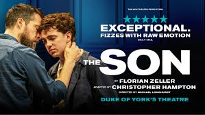 THE SON AT THE DUKE OF YORK'S THEATRE FROM AUGUST 2019 STARRING AMANDA ABBINGTON, AMAKA OKAFOR, JOHN LIGHT AND LAURIE KYNASTON