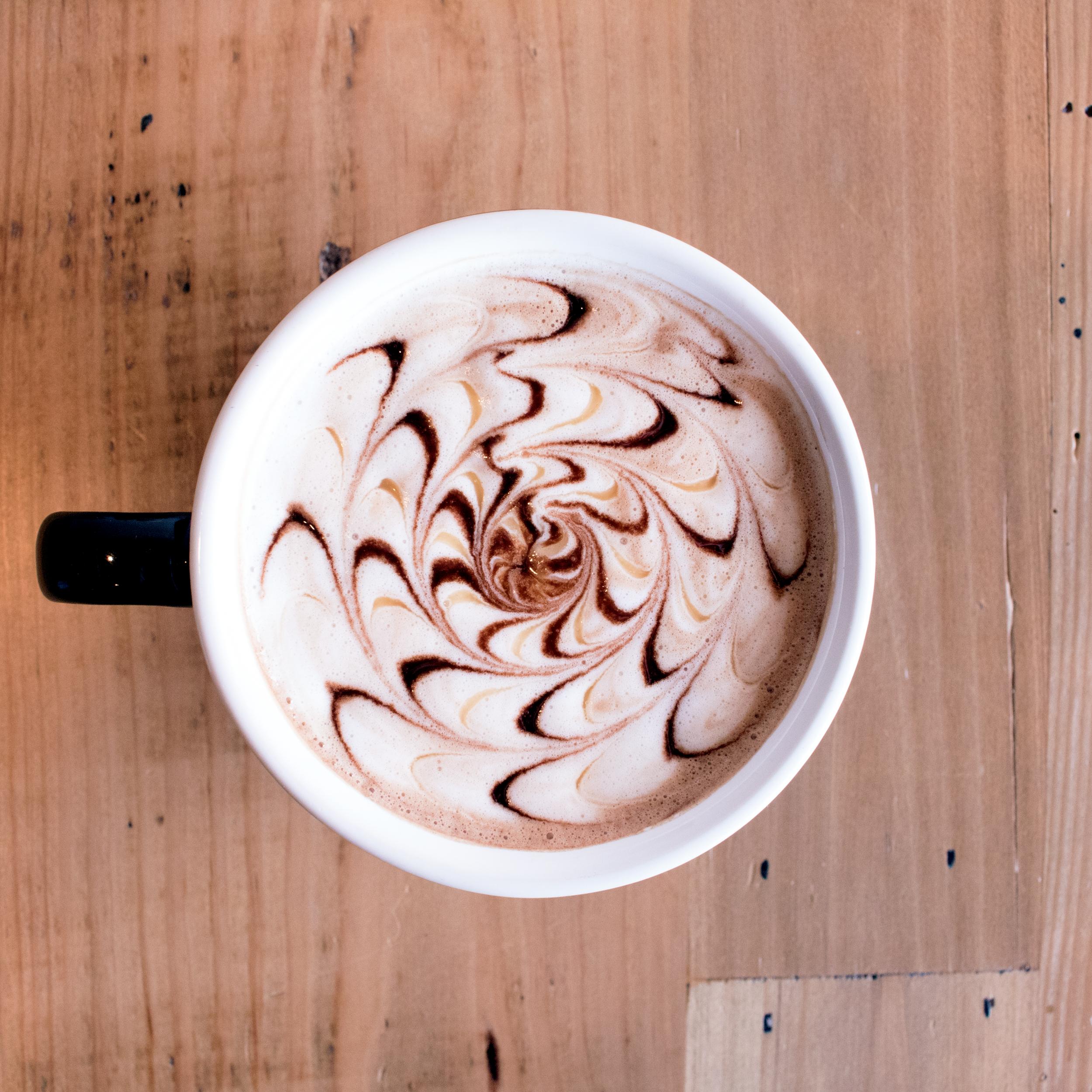 Caramel Mocha - Espresso + Chocolate + Caramel + Milk
