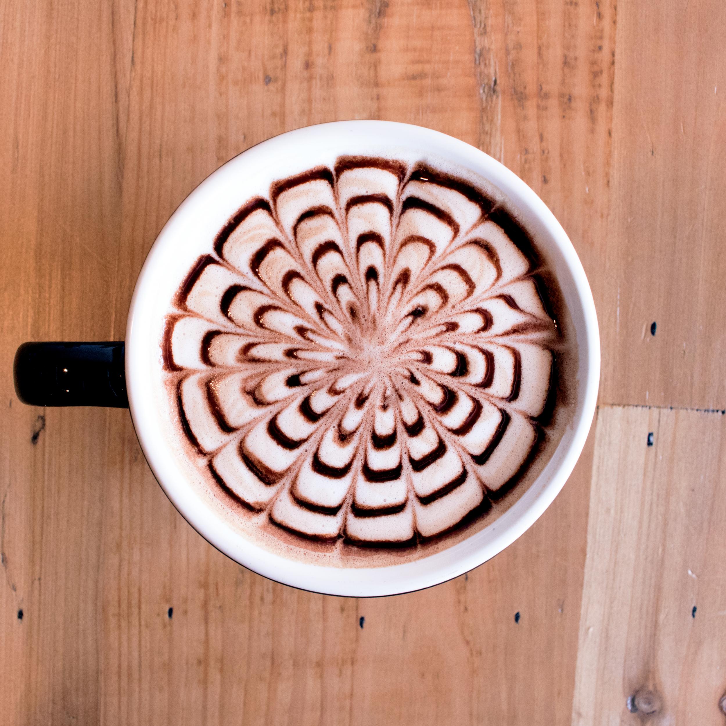 Peanut Butter Cup Mocha - Espresso + Chocolate + Peanut Butter + Milk