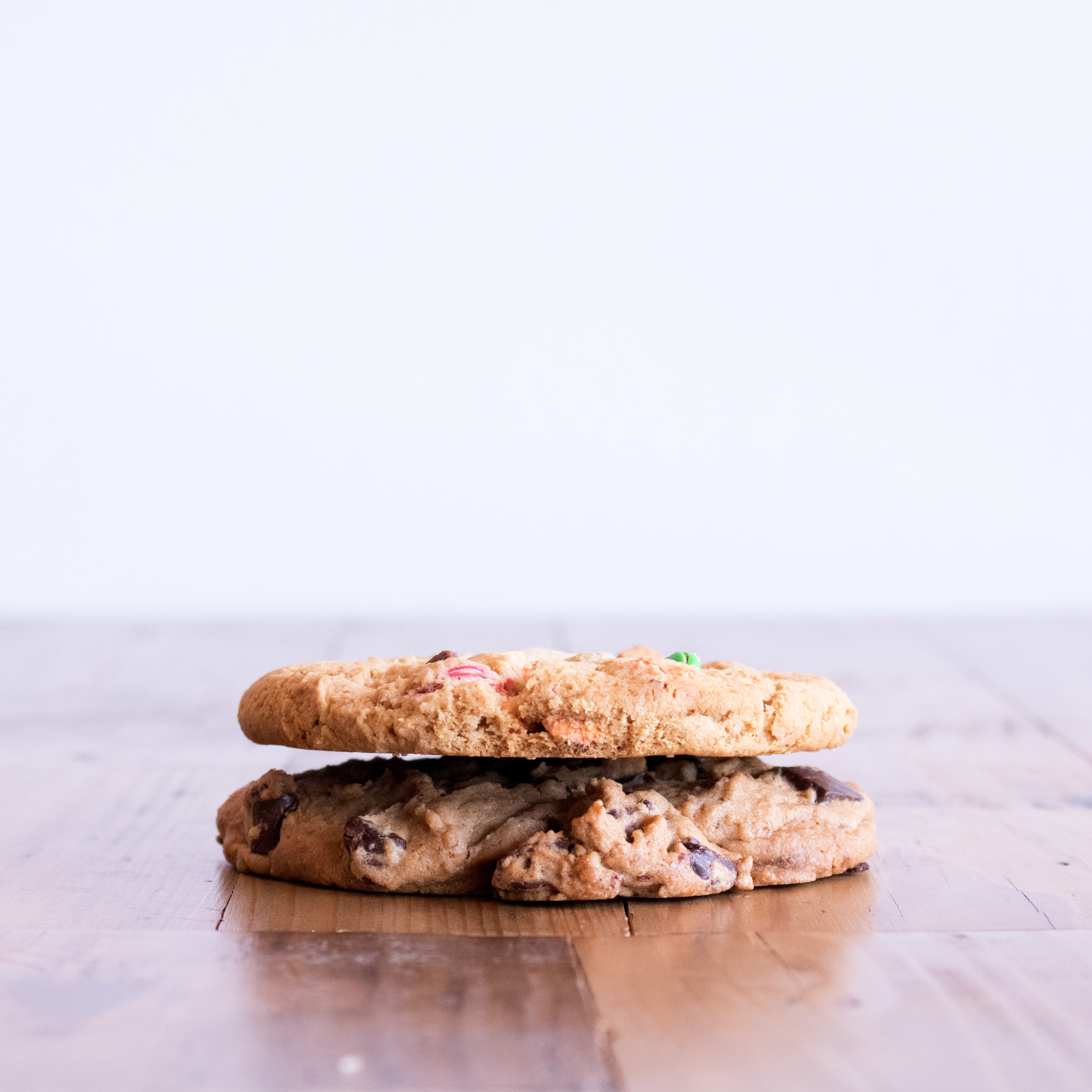 Chocolate Chunk + M&M® Cookies -