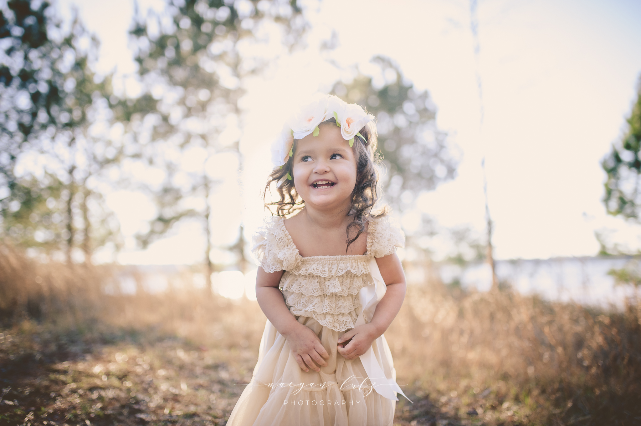 3 Year old portrait session in Locust Grove by Pennsylvania Photographer