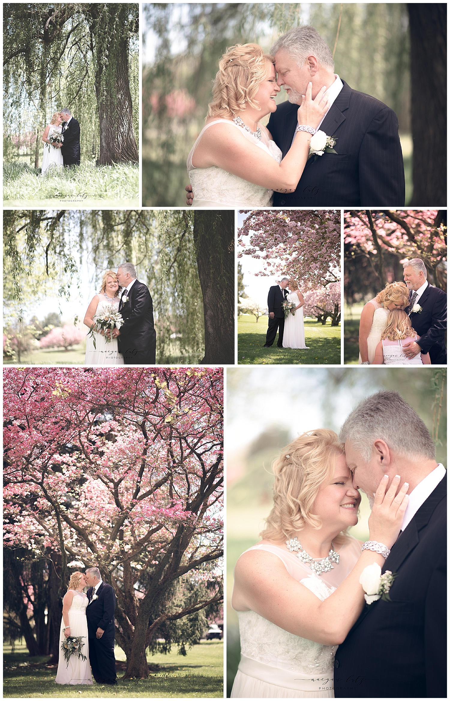 Wedding Photographer at the Rose Garden in Allentown, PA