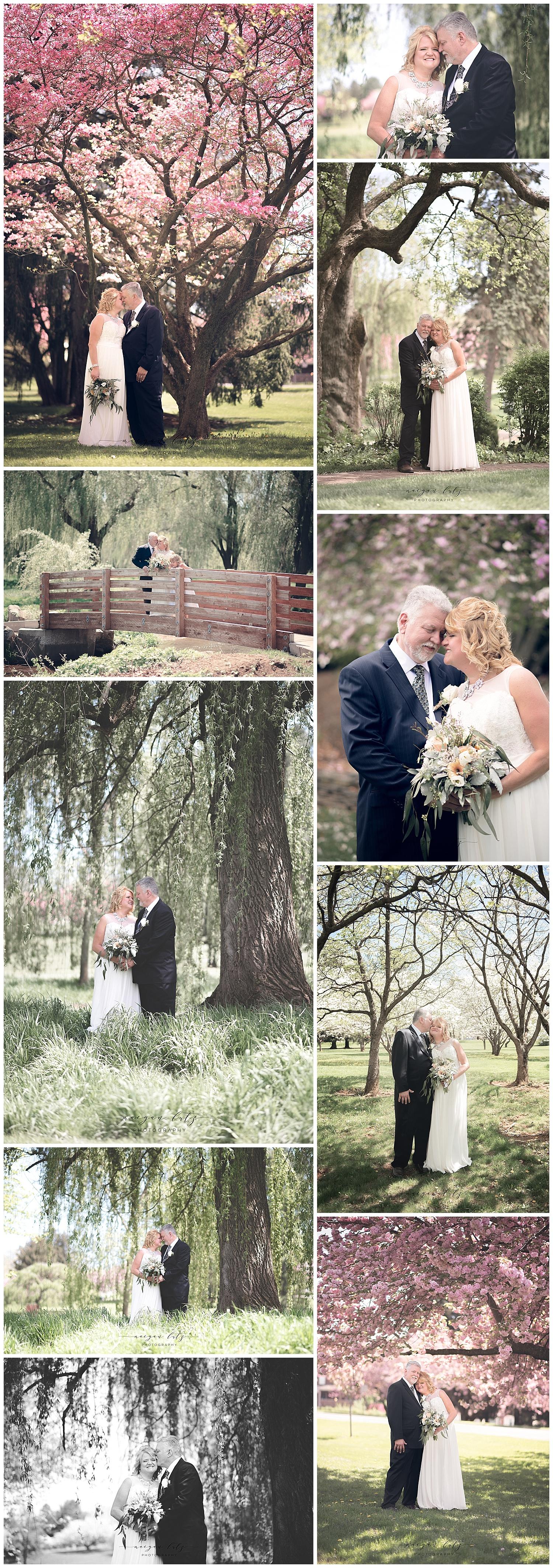 Wedding Photographer in Scranton, PA at the Rose Garden in Allentown