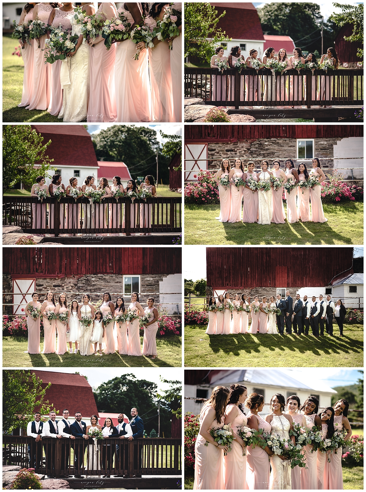Williamsport Photographer at Wedding at the Barn at Glistening Pond, Falls PA