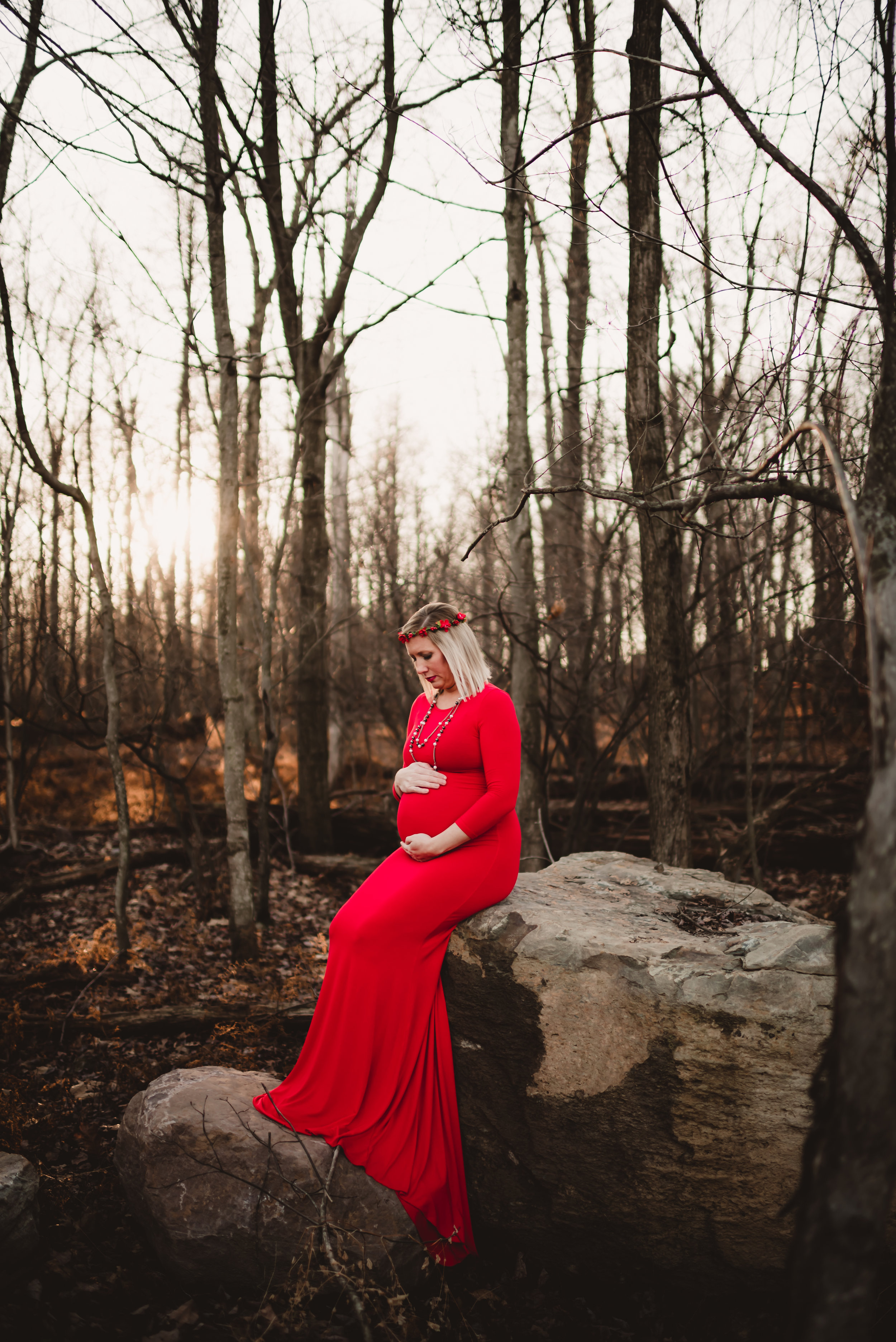 Maternity Session in Mountain top, PA by newborn photographer in Wilkes Barret PA