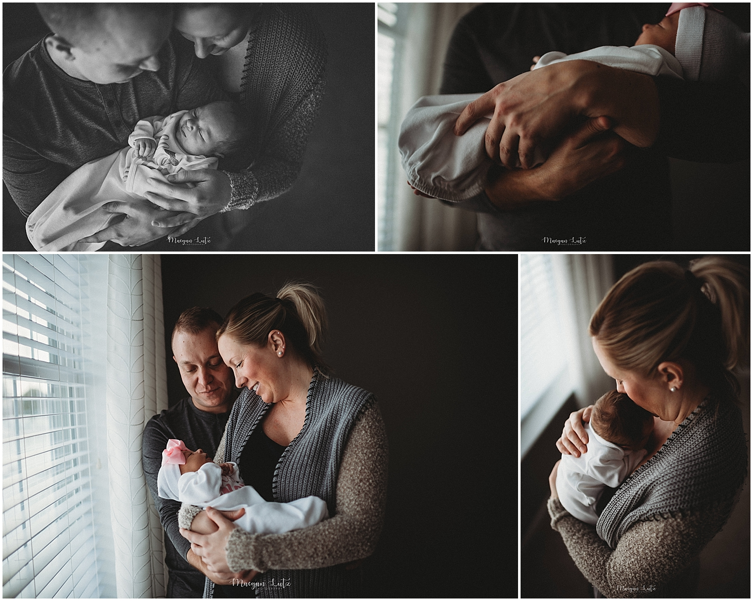 Lifestyle Newborn Session by Newborn photographer in NEPA