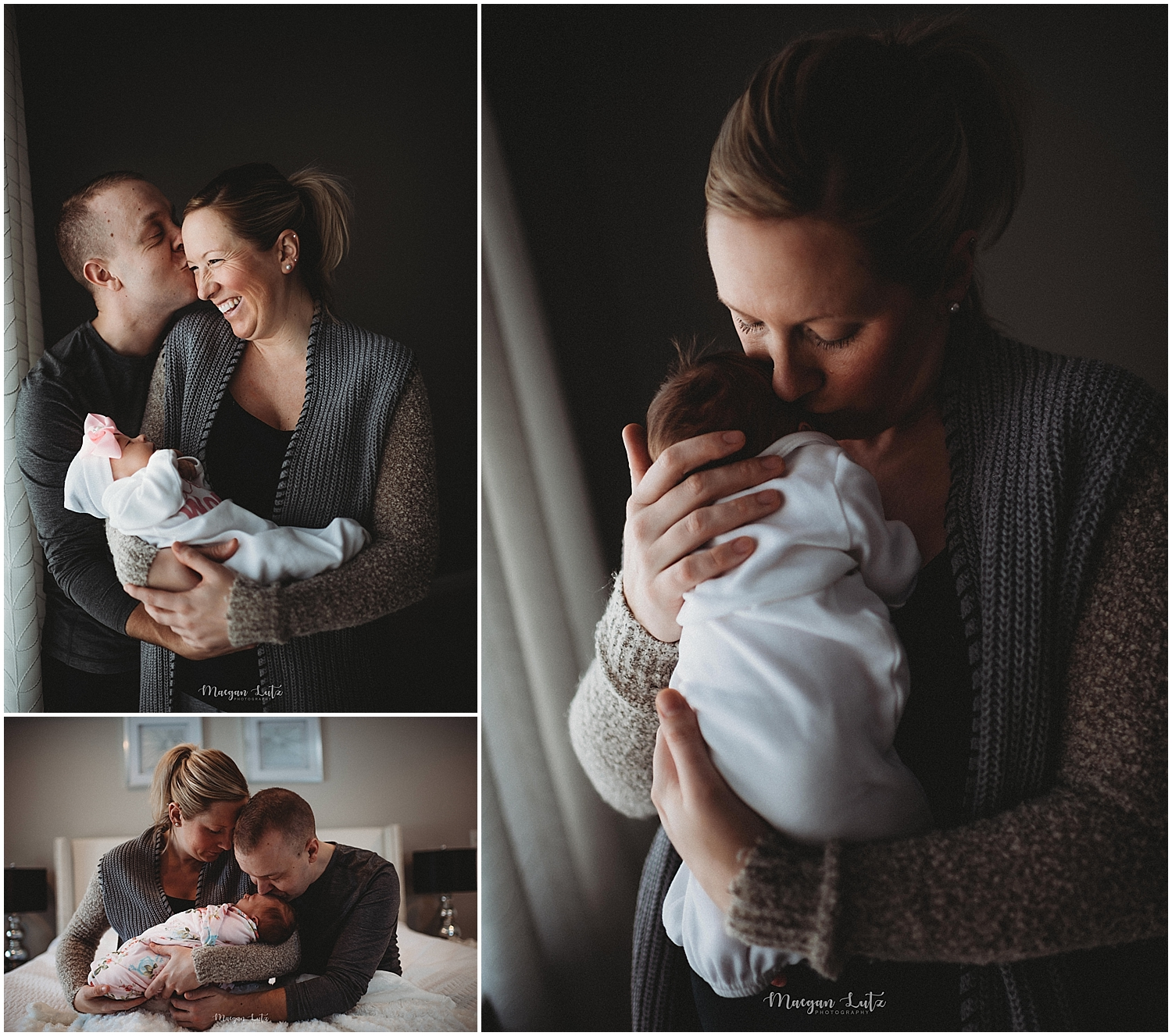 Scranton Lifestyle Newborn Session by Newborn photographer in Mountain Top NEPA