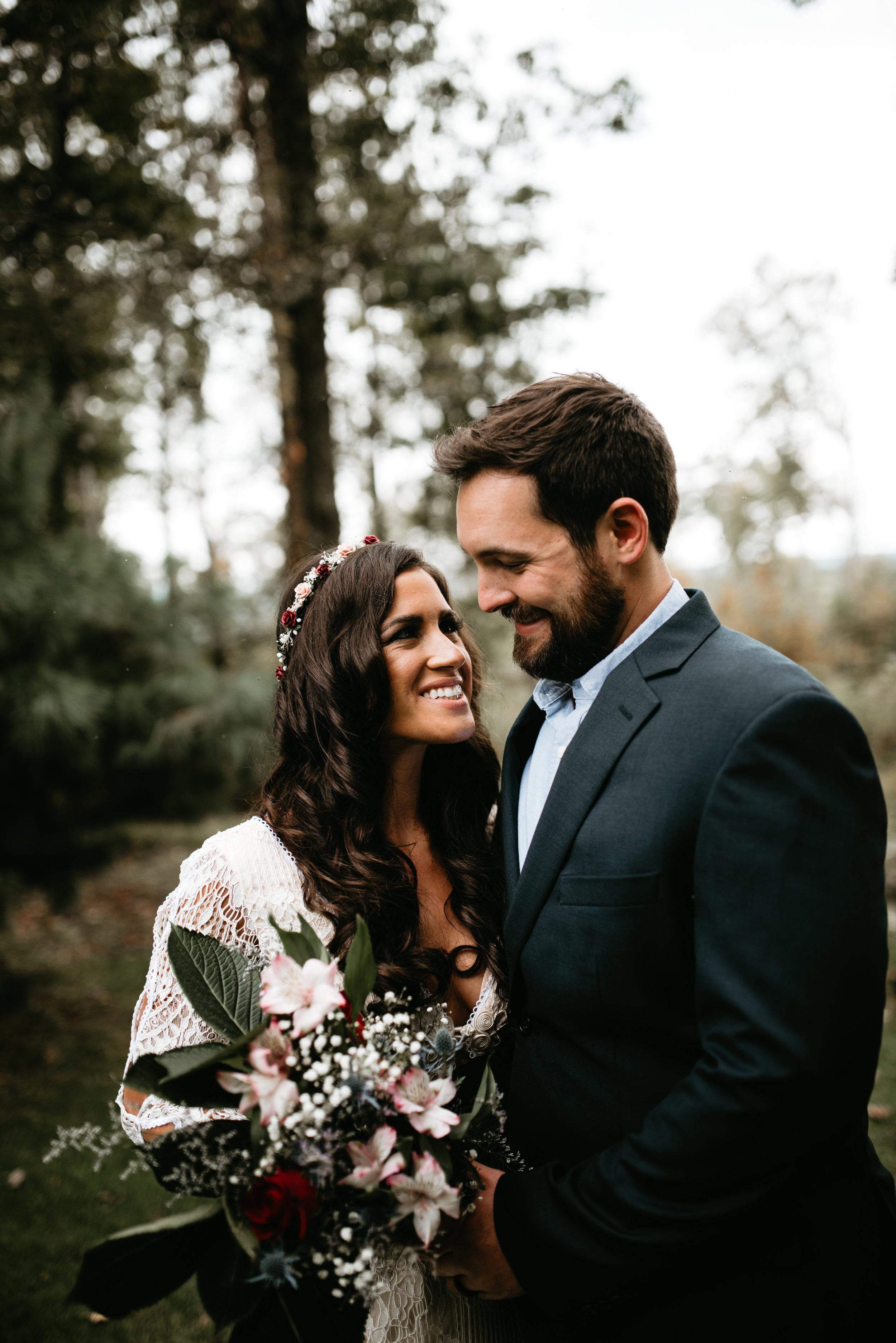 Destination elopement photographer in Dallas, PA