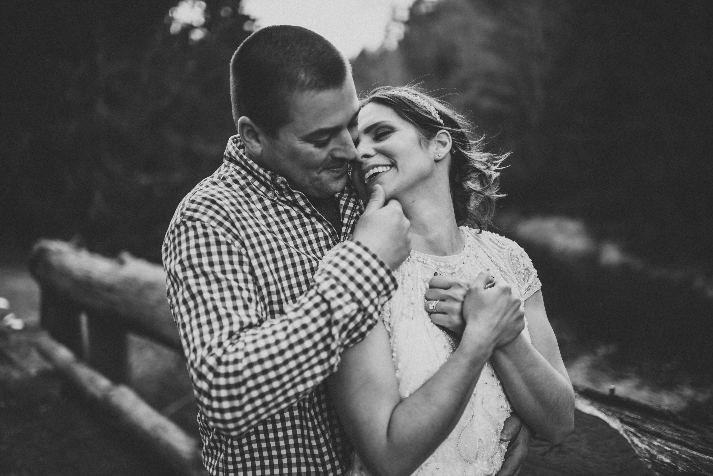 Sarah & Shawn - Elopement at Hawk Falls | Hickory Run State Park,White Haven PA
