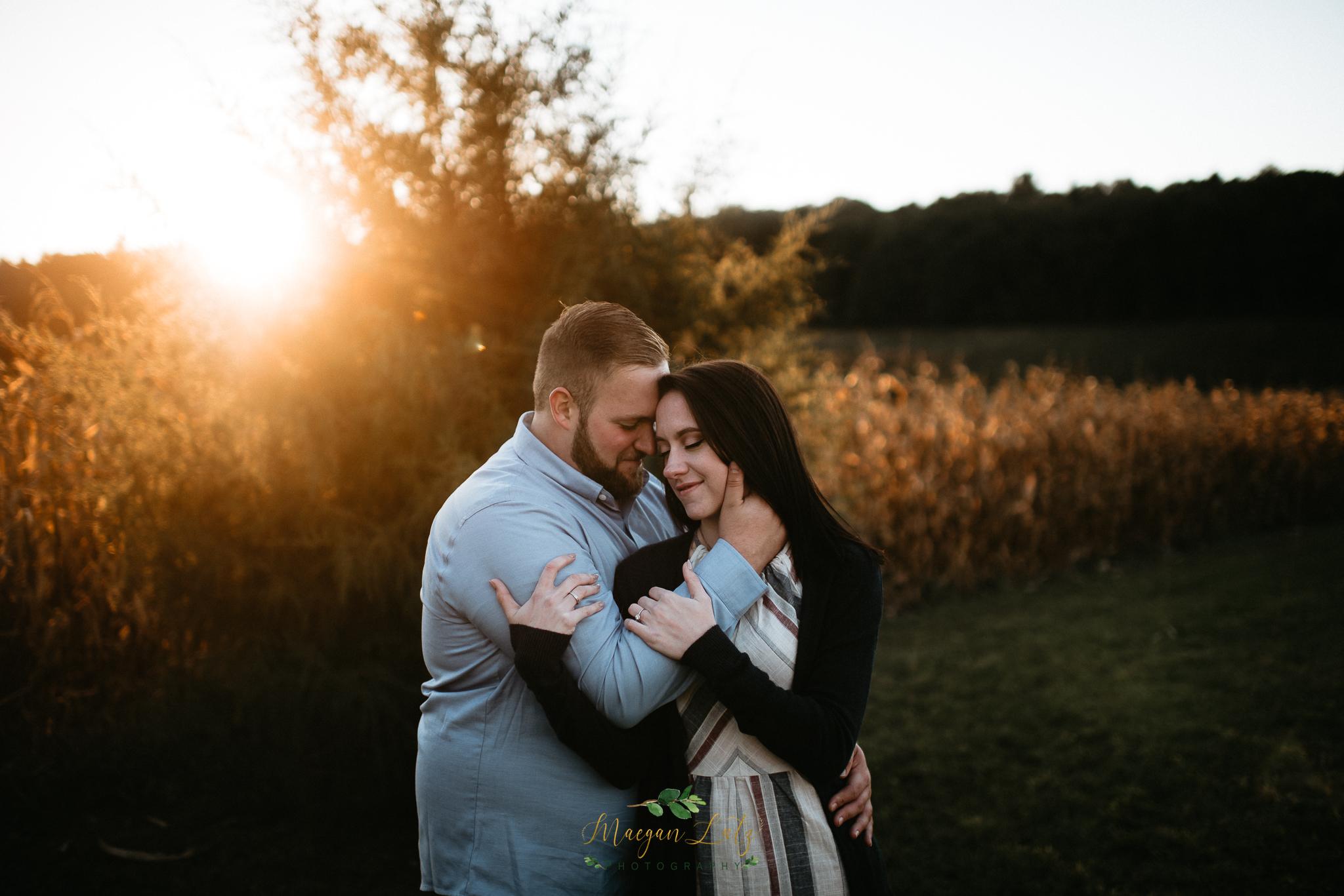 Engagement session at Blue Ridge Estate Vineyard & Winery