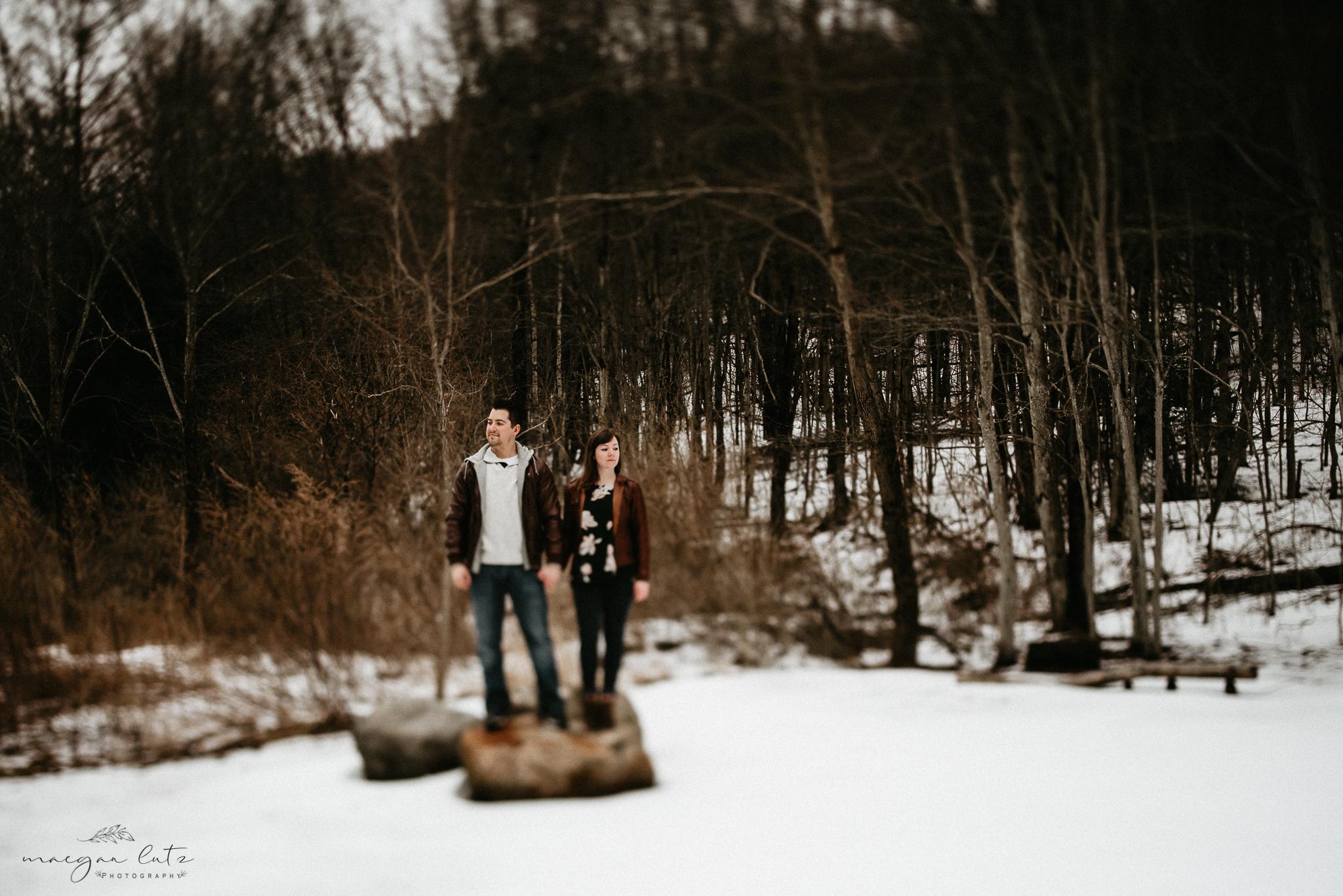 Nicole & Daniel - Engagement Session at Nescopeck State Park