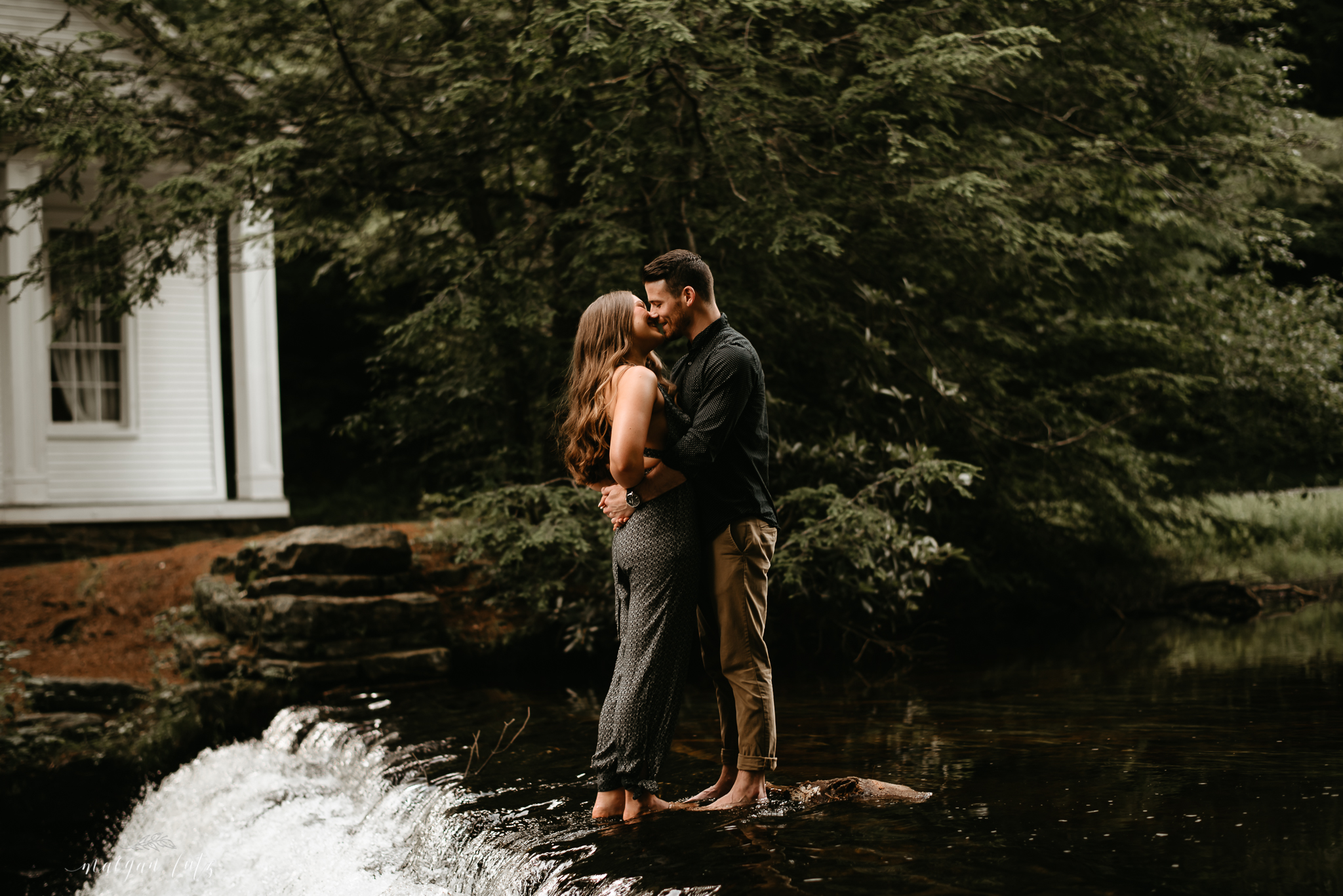 Trevor & Lacee - Engagement Session at Boulder Field, Hickory Run State Park