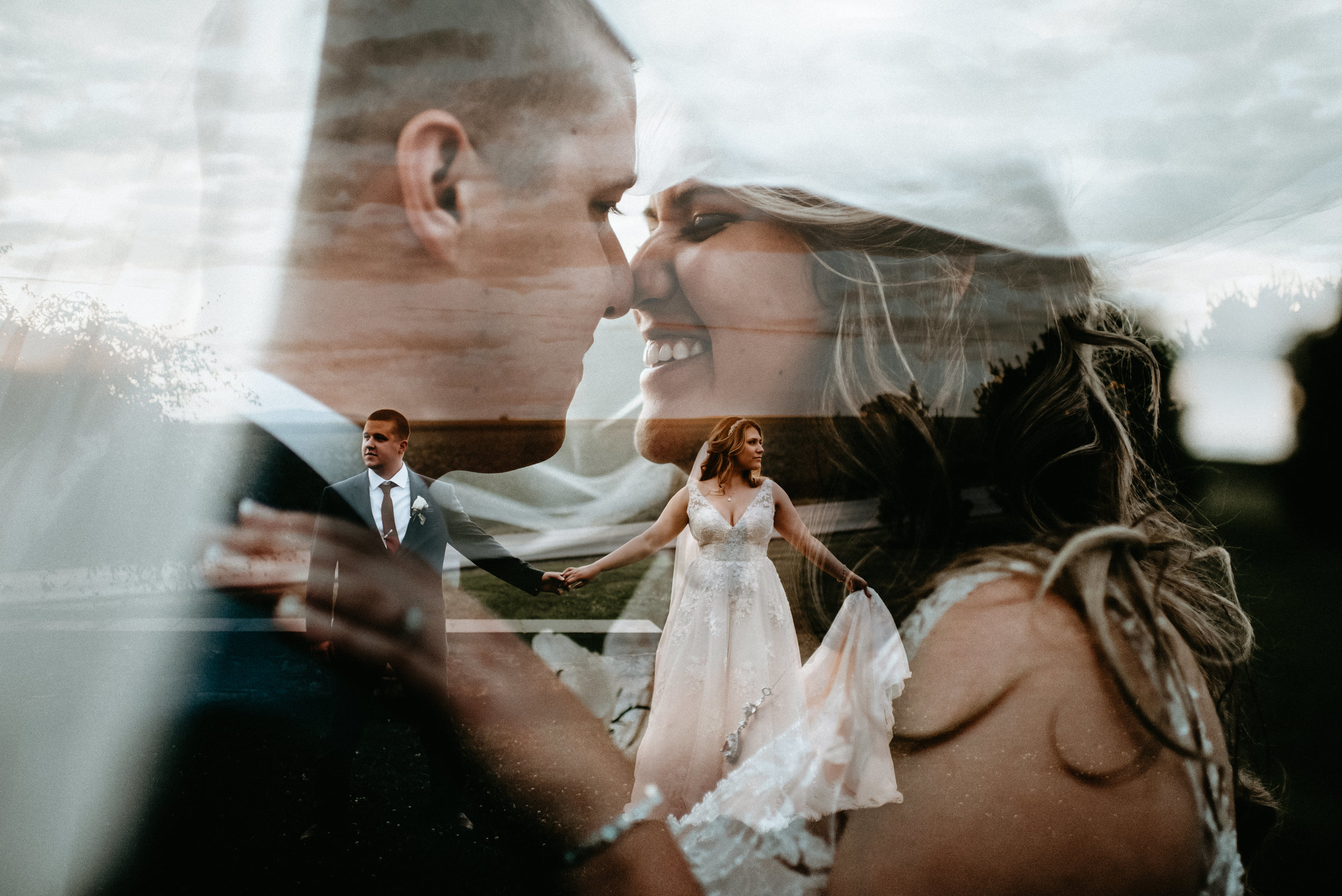 Mr. & Mrs. Samuels - Wedding at The Barn at Greystone Farm, Watsontown PA