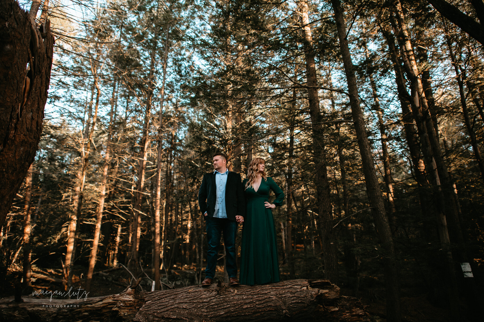 Courtney & Tim - Engagement Session at Boulder Field, Hickory Run State Park