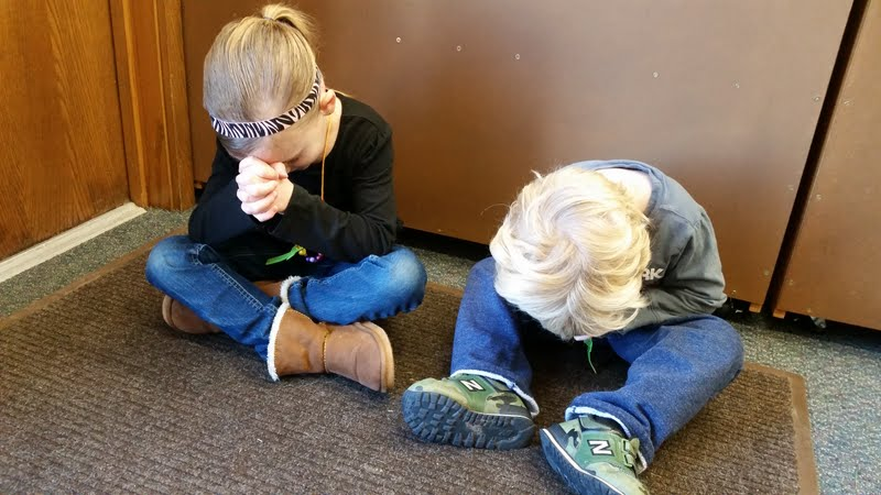 We pray!