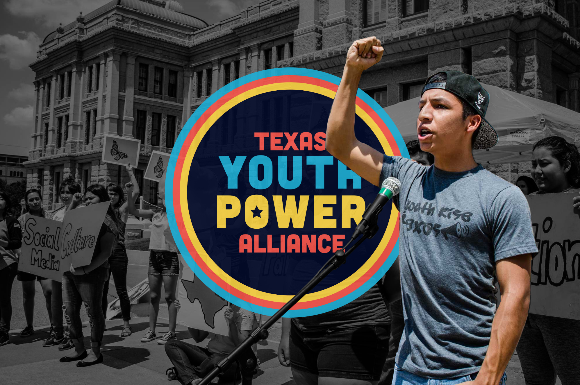 Teamed up with the Texas Freedom Network, Jolt Initiative and MOVE Texas to create the branding for the  Texas Youth Power Alliance  (TYPA), an organization that will harness the full power of young people to transform the state of Texas. The task at hand was to create an identity that was bright and bold to draw in young voters. Our deadline was tight and we had two weeks to craft a brand and landing page to promote the organization.  Designer: Yunuen Sigler  Photography Credit: Texas Youth Power Alliance