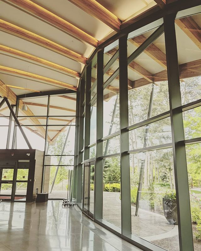 Looking forward to working in this beautiful space, helping @rbgcanada on their first AGM livestream for members next week. Rumour has it they've got some big announcements!  Join RBG live next Thursday at 7pm EST on their Facebook page to follow along.  #hscreates #socialmediamarketing #livestream