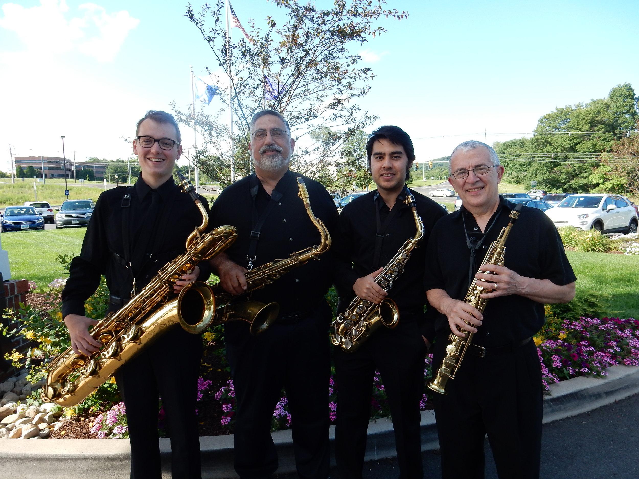 Frank Vasi - Thimble Island Saxophone Quartet
