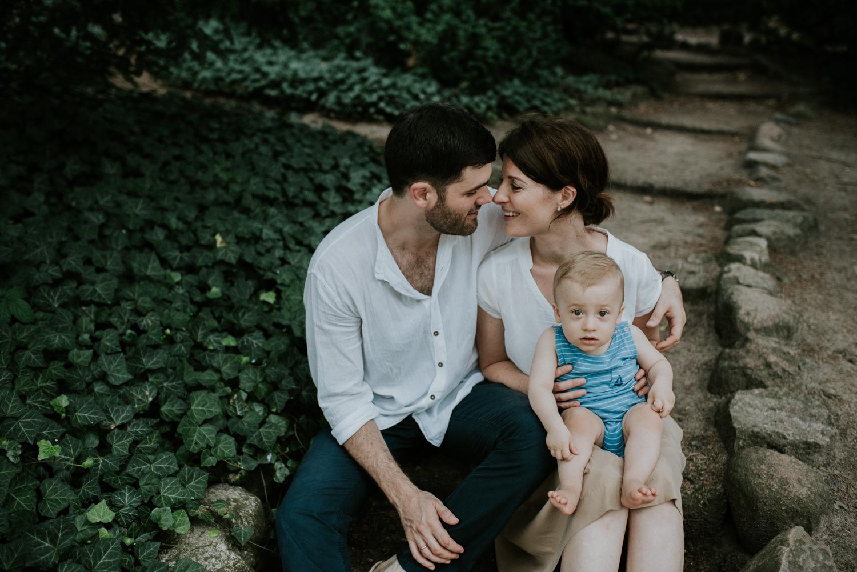FAMILY IN LAZIENKI KROLEWSKIE