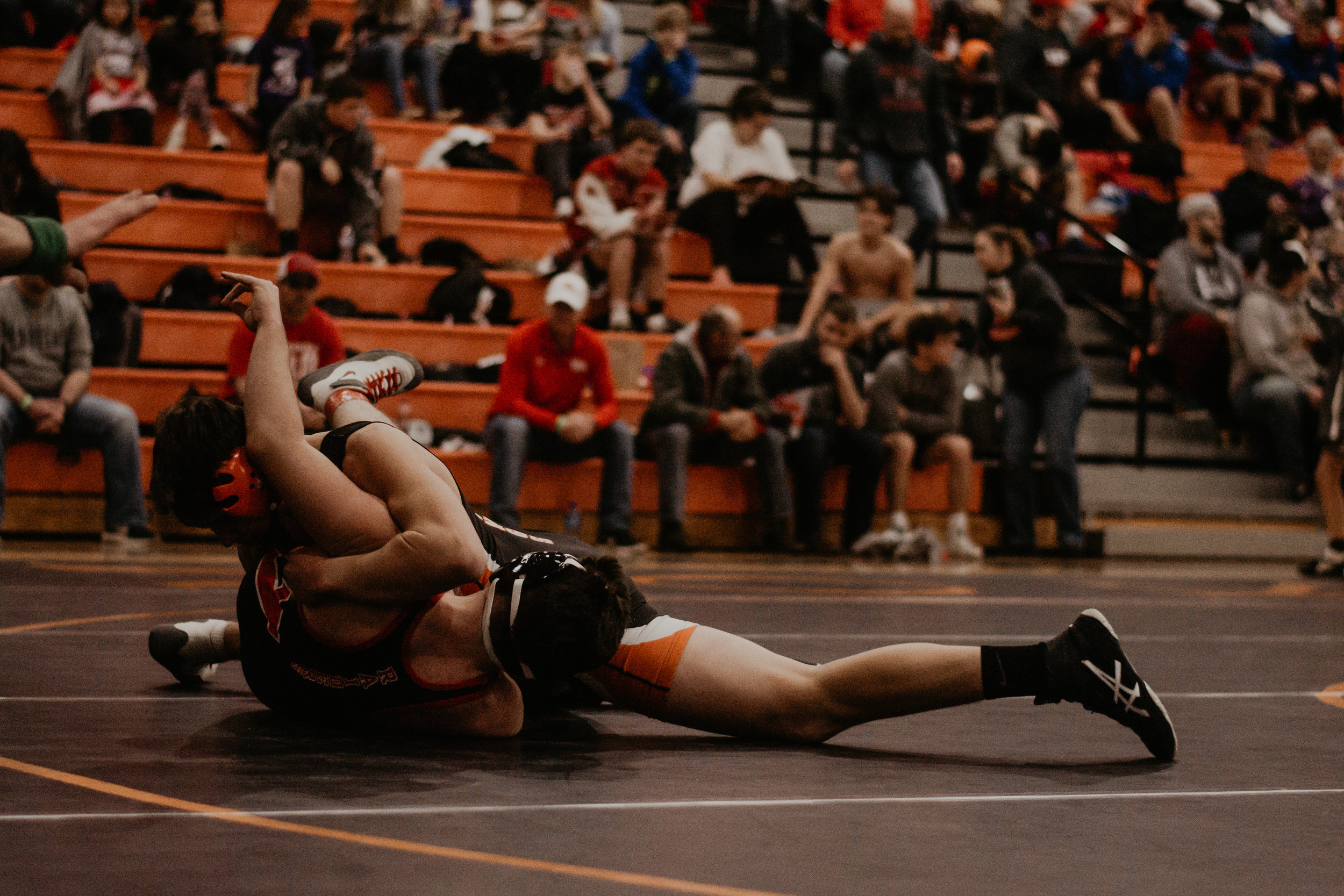 160 – Chase Pywell (31-12) placed 4th