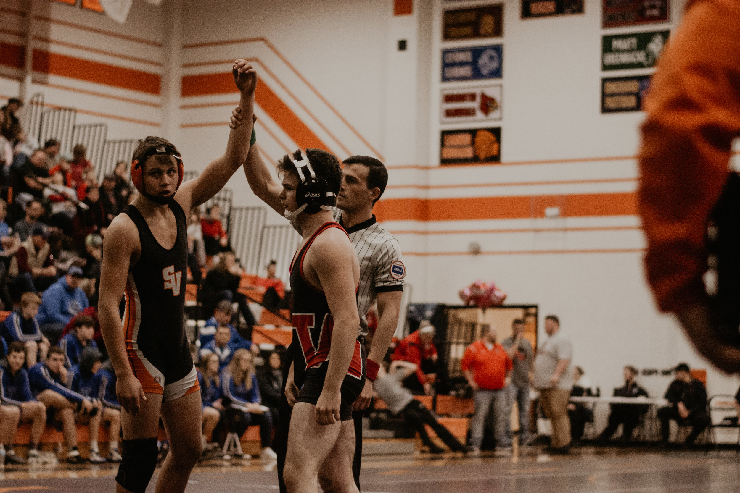 The four Viking mat men will head to the Tony's Pizza Event Center for the 4A State Wrestling Tournament in Salina on February 22 and 23 for a chance to be a state champion.