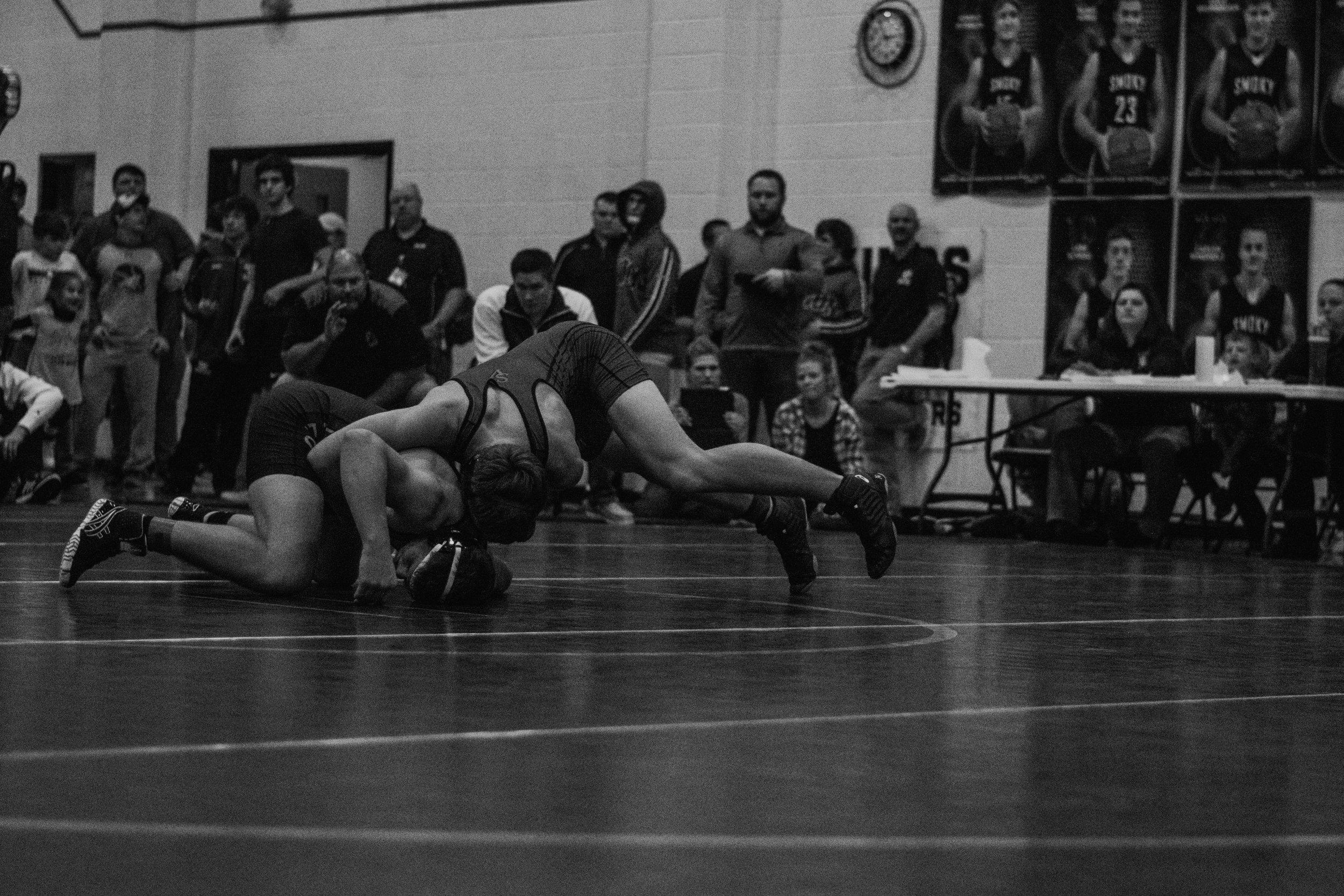 170 – Dax Hopp (36-8) placed 3rd