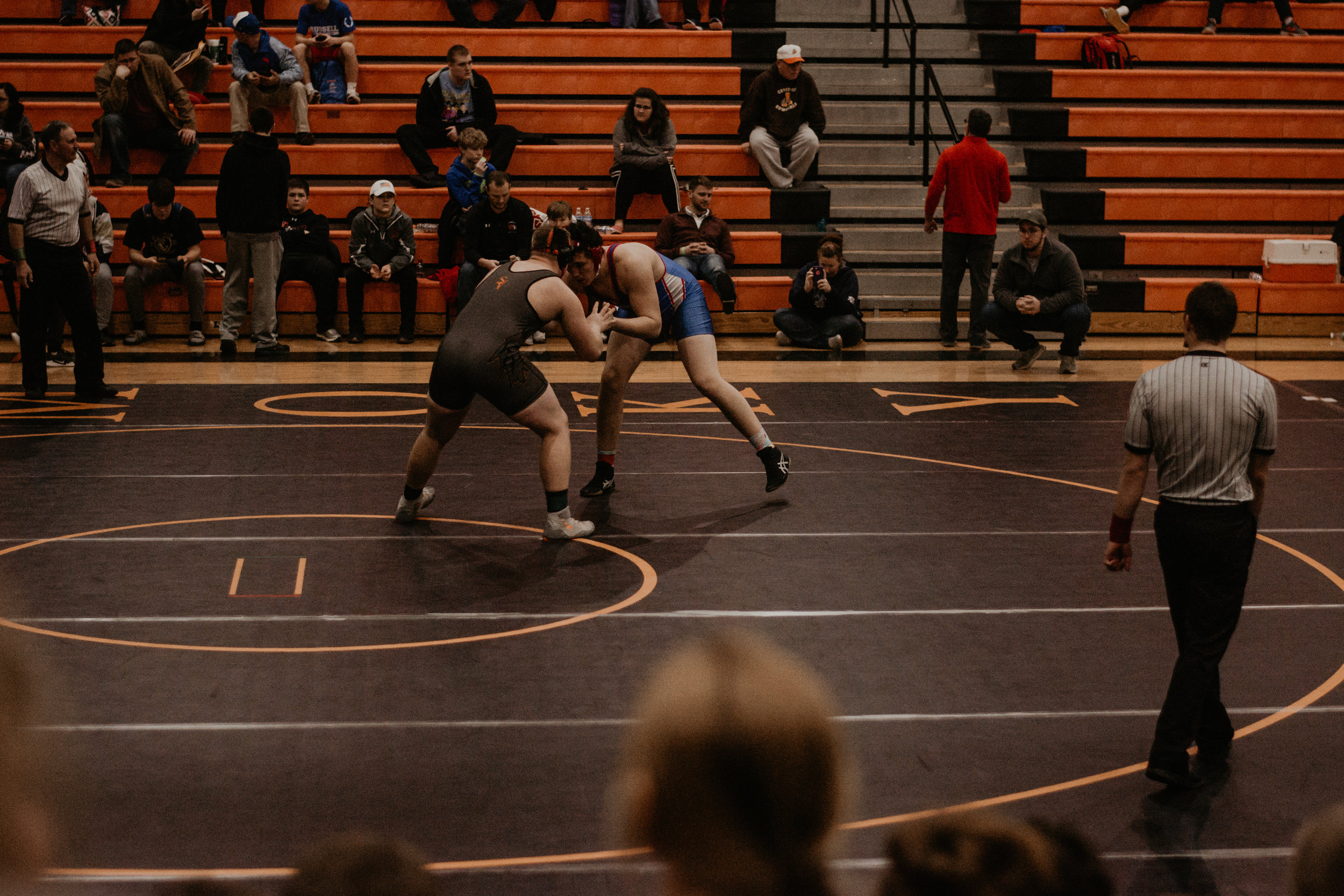 Ethan Wampler captured 1st place in the 4A Regional Tournament in Lindsborg over the weekend, capping off Saturday with a win by fall over Ryely Seals of Santa Fe Trail at 2:27 in the match.