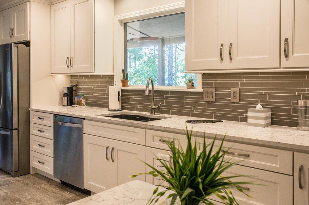Asheville Galley Kitchen Remodel — HomeSource Builders ...