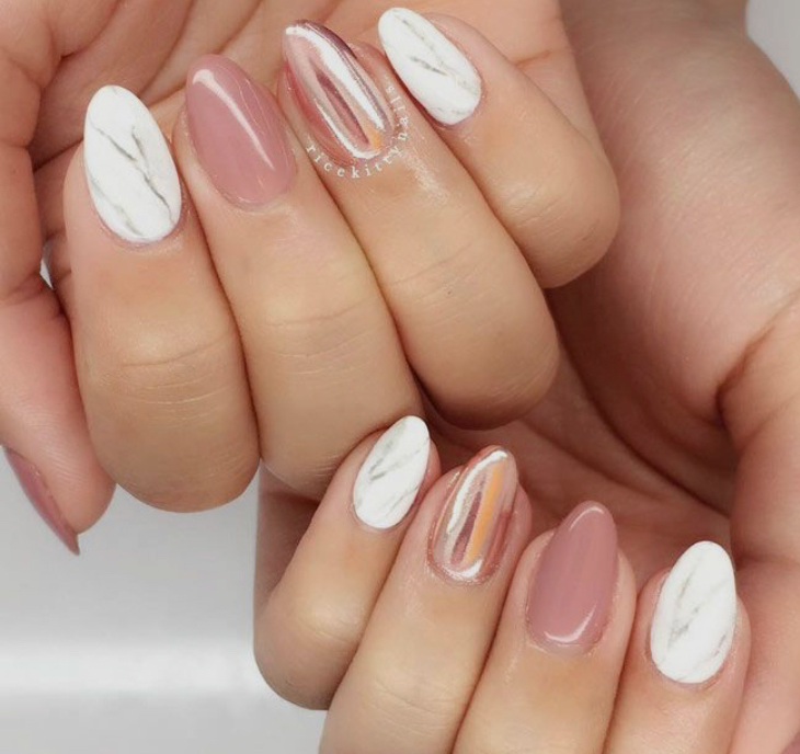 3. Beauty: Have Your Nails Done - We all know that there is something refreshing about getting our nails done. Both the experience and the finished product are so satisfying. Let the design of your nails compliment and motivate you in your goals. Click HERE for some fun almond nail designs.