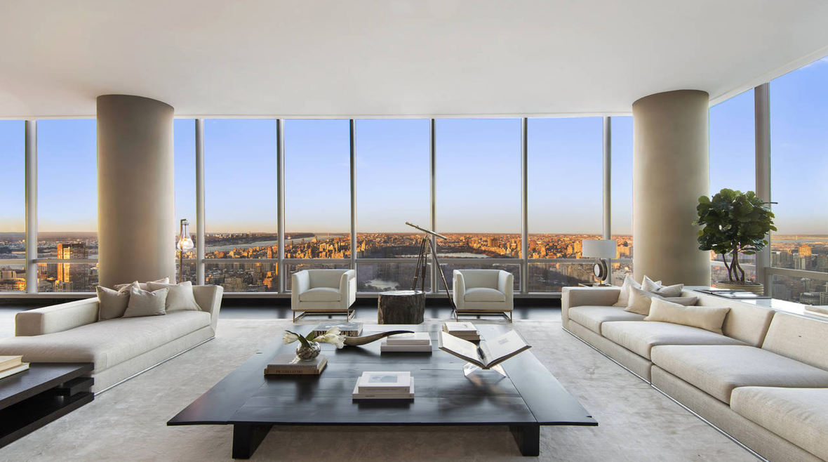 157 West 57th Street         Theater District, NYC    3 BD I 4.5 BA I  $29,995,000