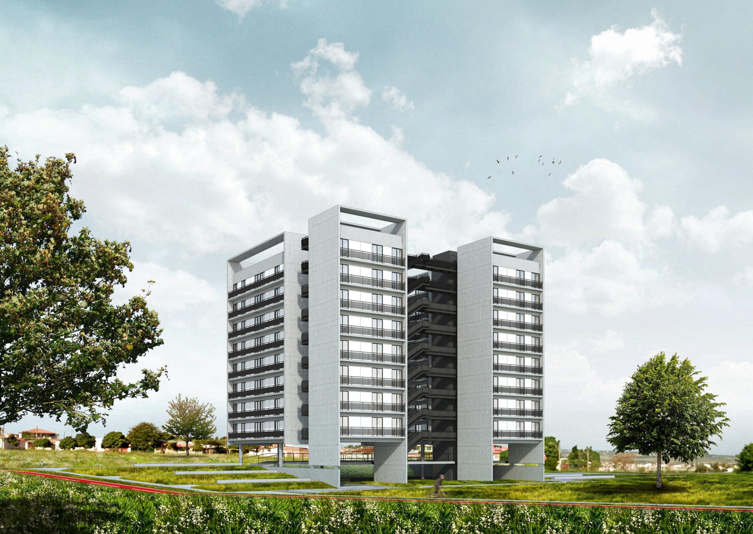 Unidades Habitacionais   Samambaia   Distrito Federal   Brasil