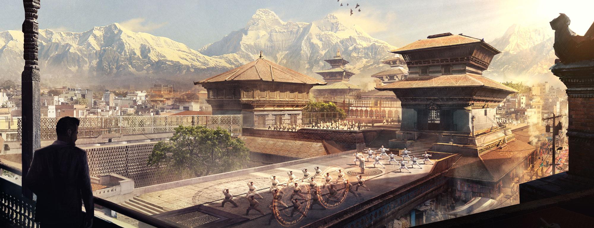 Kamar-Taj training rooftops
