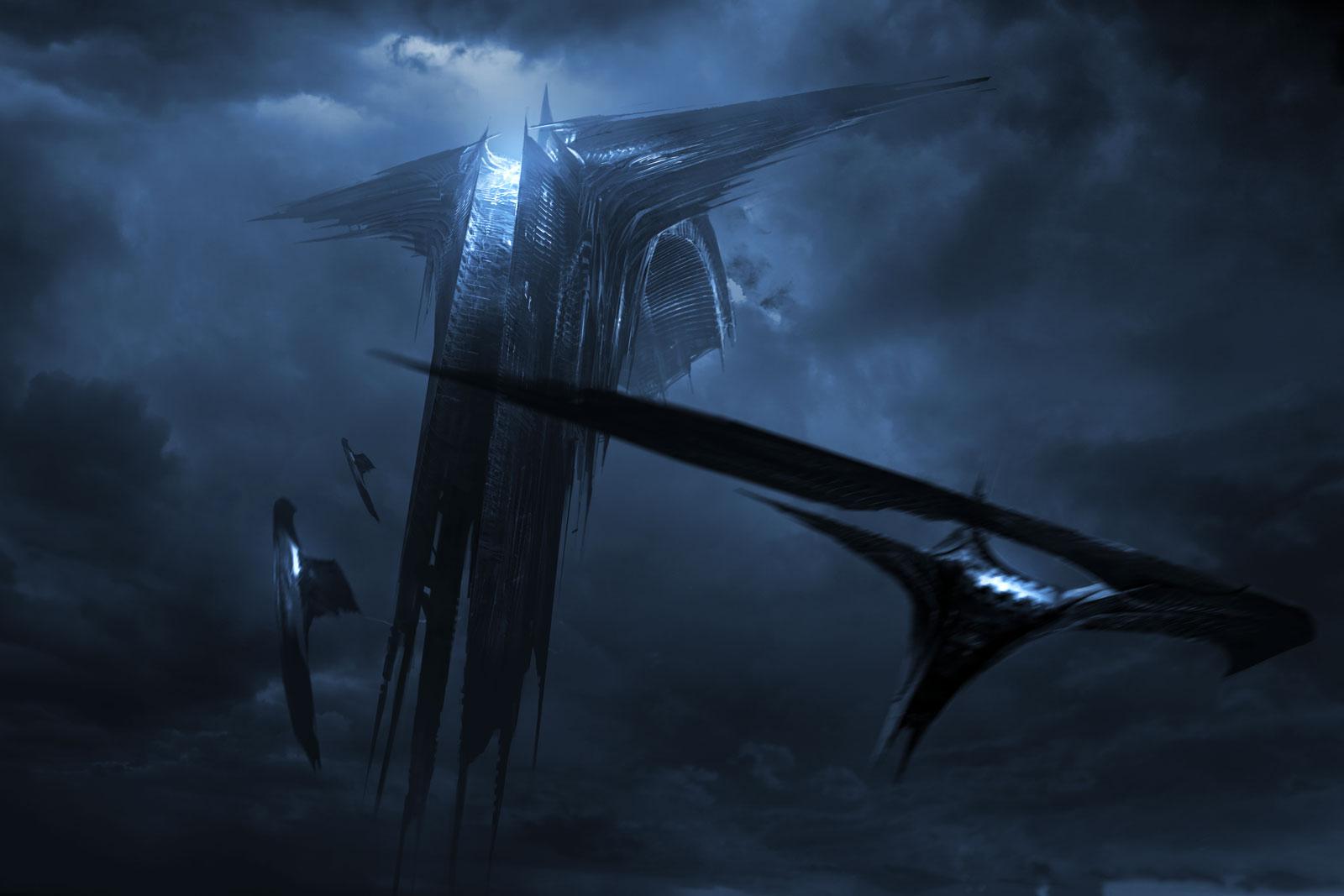Dark Elves Mothership  /  Thor: The Dark World